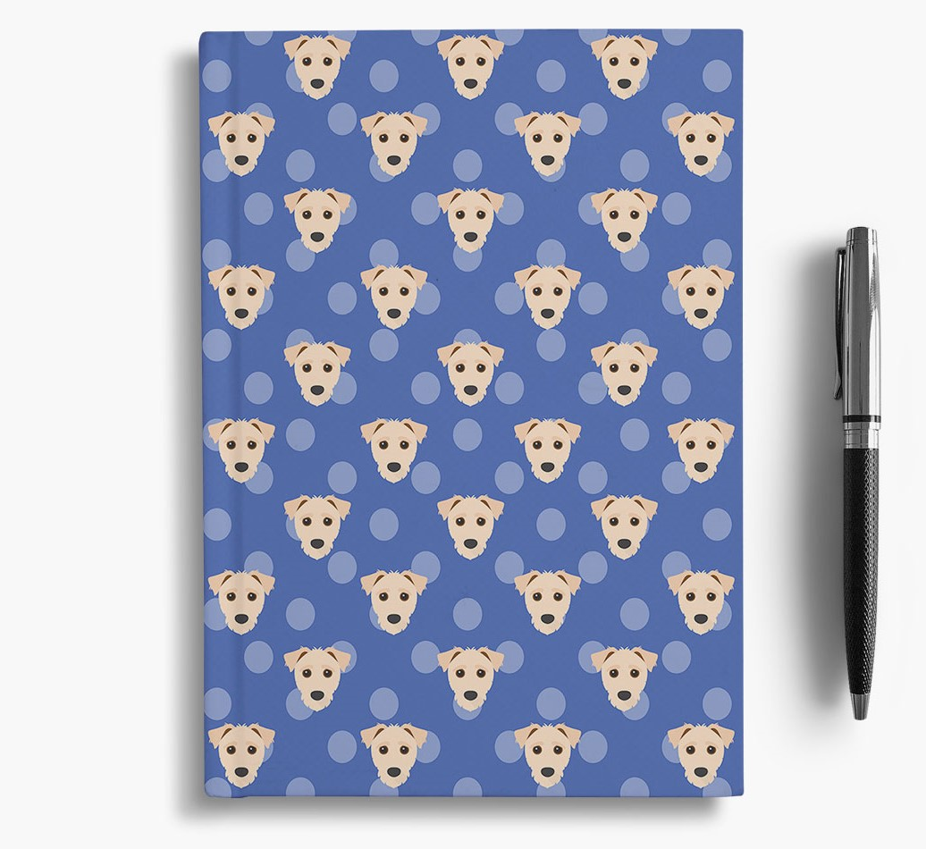 Jack-A-Poo Icon Pattern Notebook