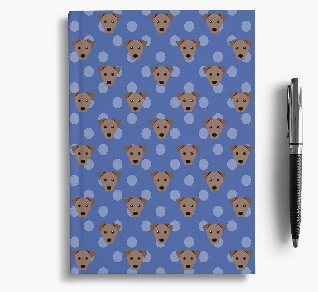 Mixed Breed Icon Pattern Notebook