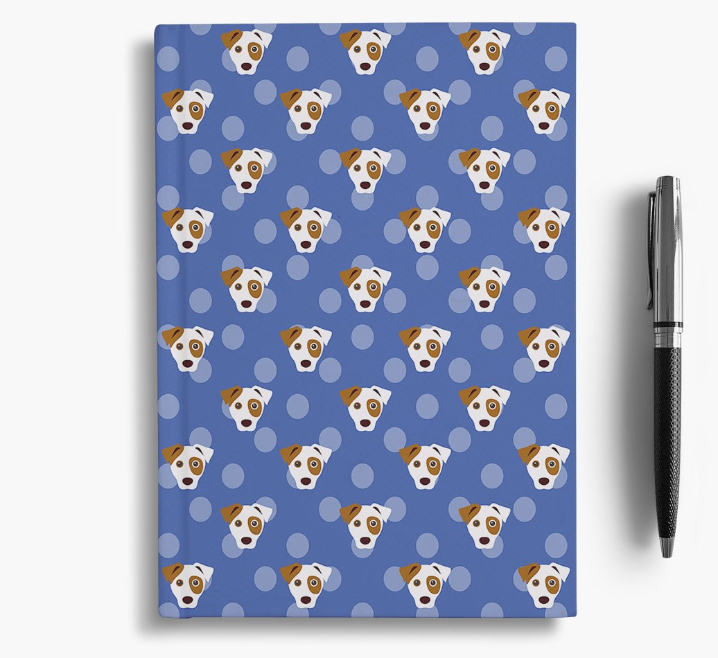 Parson Russell Terrier Icon Pattern Notebook