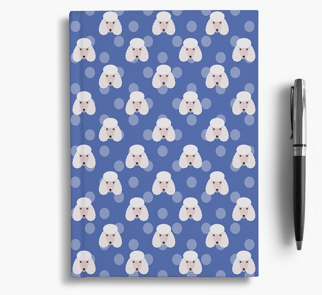 Poodle Icon Pattern Notebook