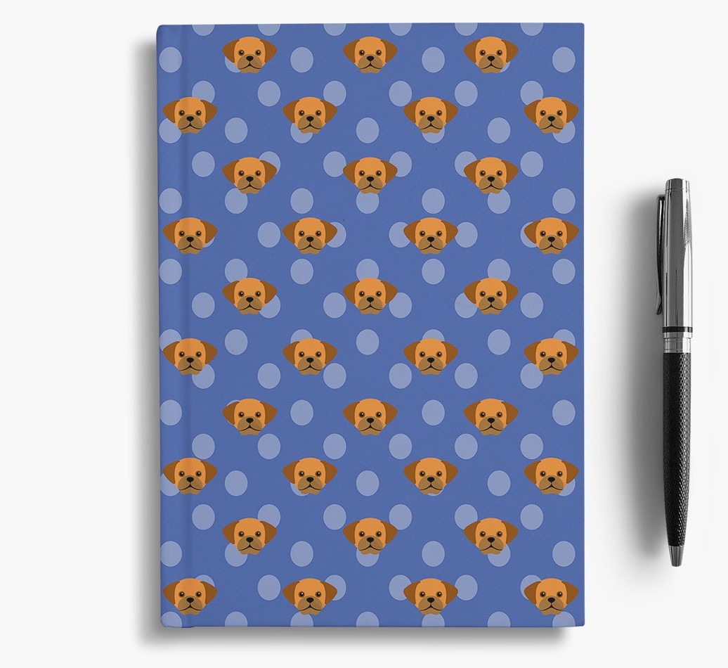 Puggle Icon Pattern Notebook