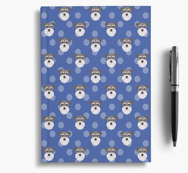 Dog Icon Pattern Notebook