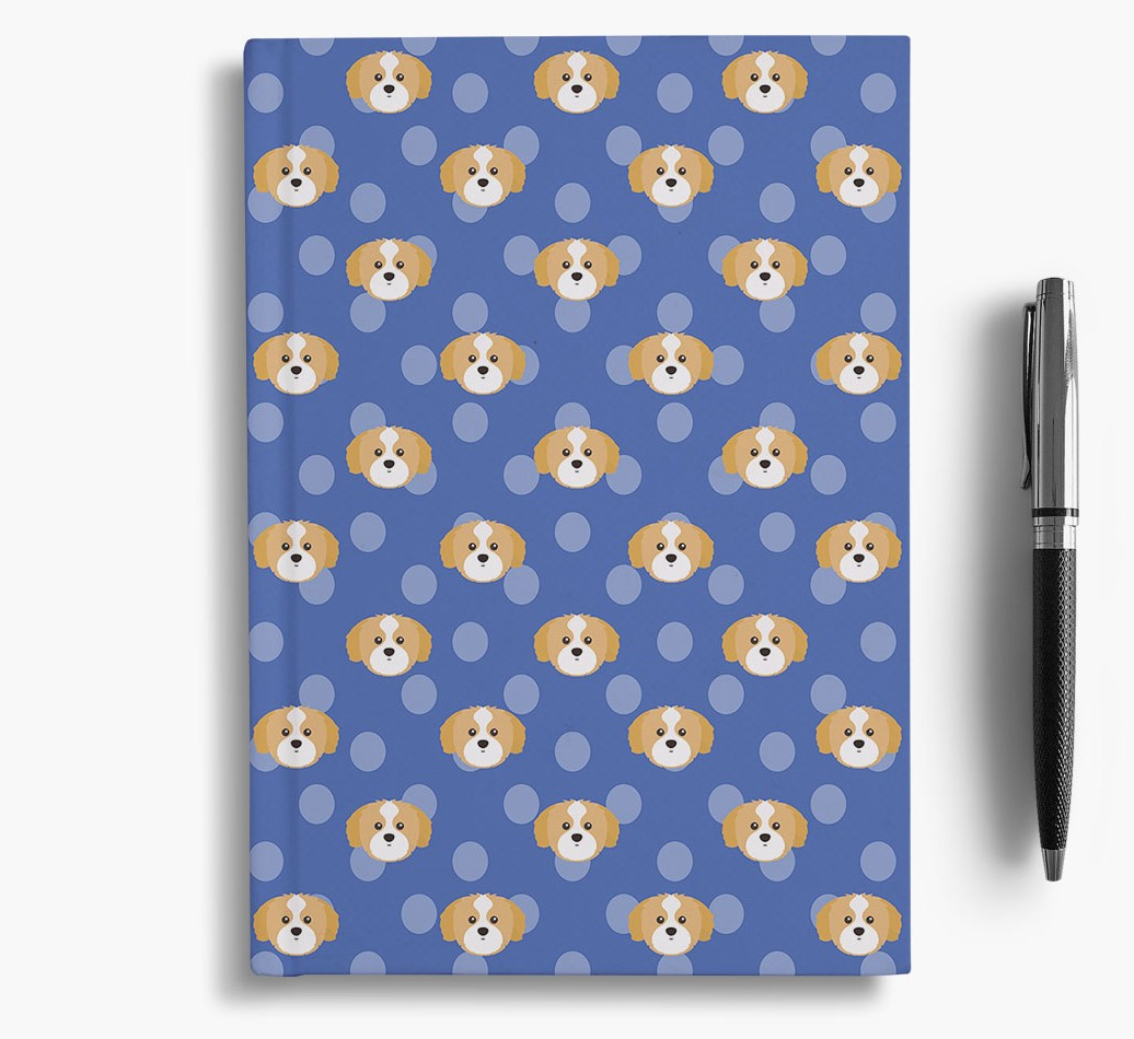 Shih Tzu Icon Pattern Notebook