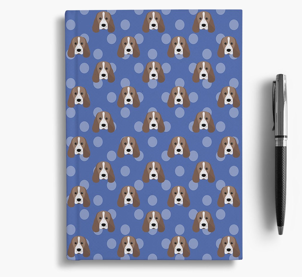Sprocker Icon Pattern Notebook