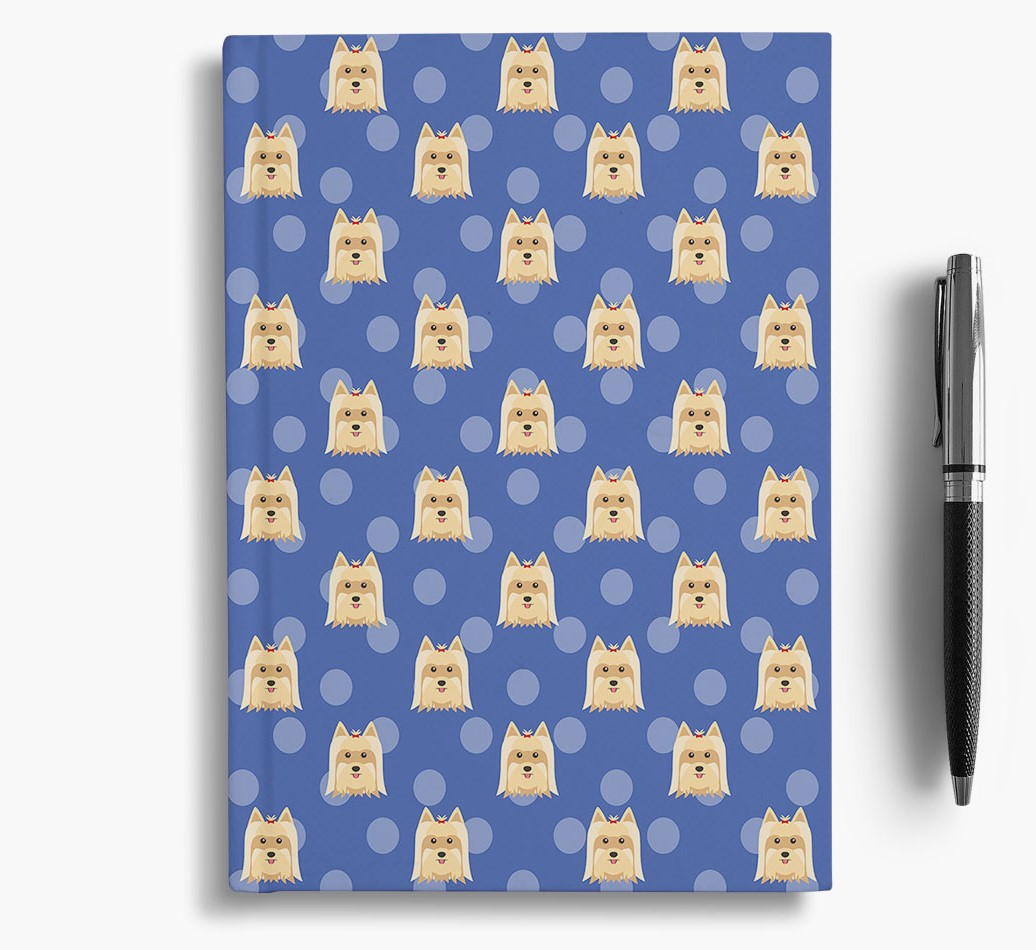 Yorkshire Terrier Icon Pattern Notebook