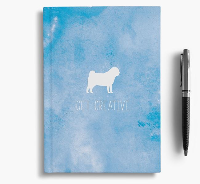 'Get Creative' Dog Notebook