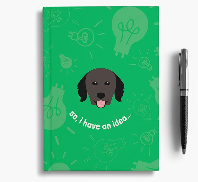 'So, I Have An Idea...' Notebook with Hovawart Icon