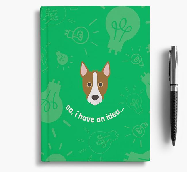 'So, I Have An Idea...' Notebook with Mixed Breed Icon