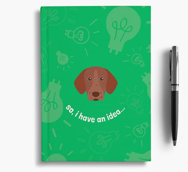 'So, I Have An Idea...' Notebook with Pointer Icon