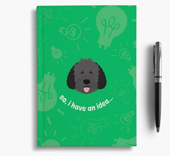 'So, I Have An Idea...' Notebook with Dog Icon