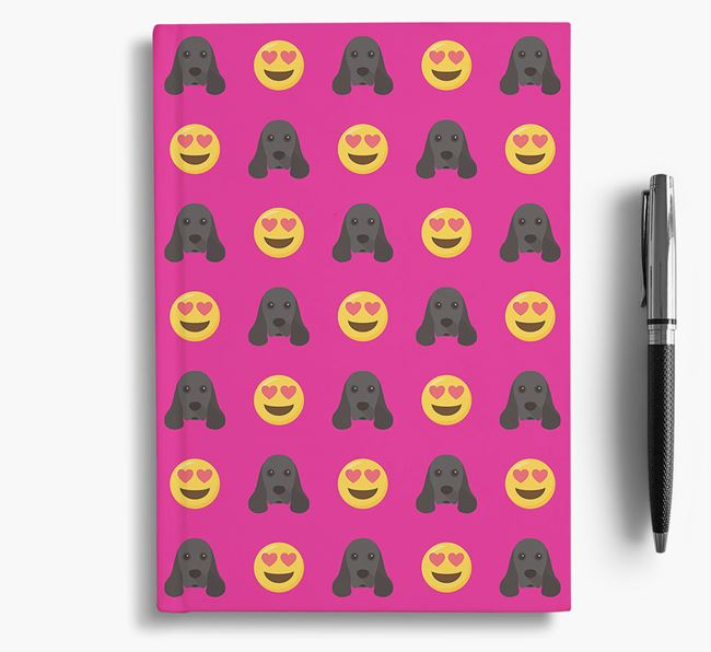 'Heart Eyes' Notebook with American Cocker Spaniel Icon
