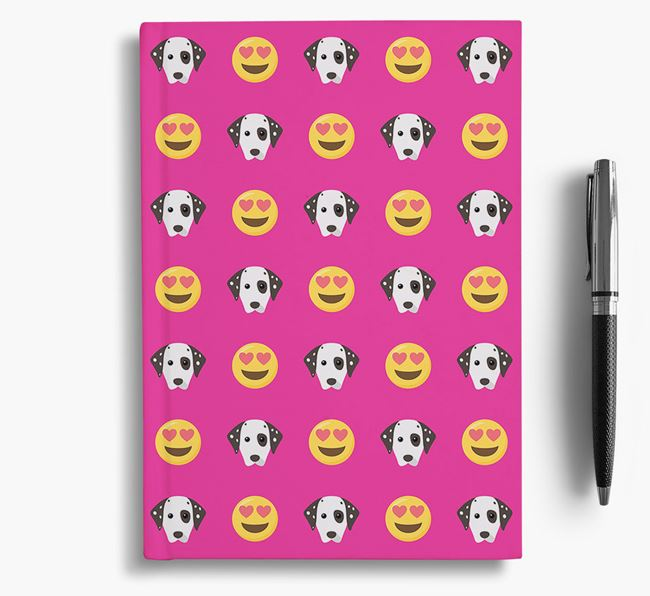 'Heart Eyes' Notebook with Dog Icon