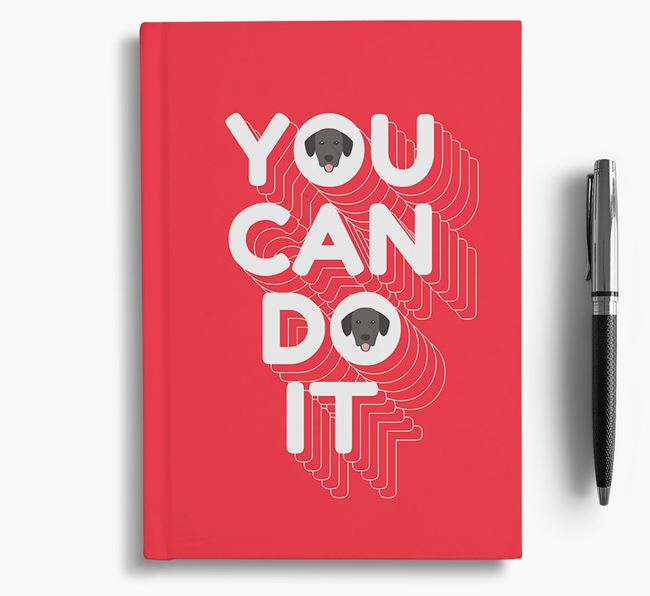 'You Can Do It' Notebook with Springador Icon