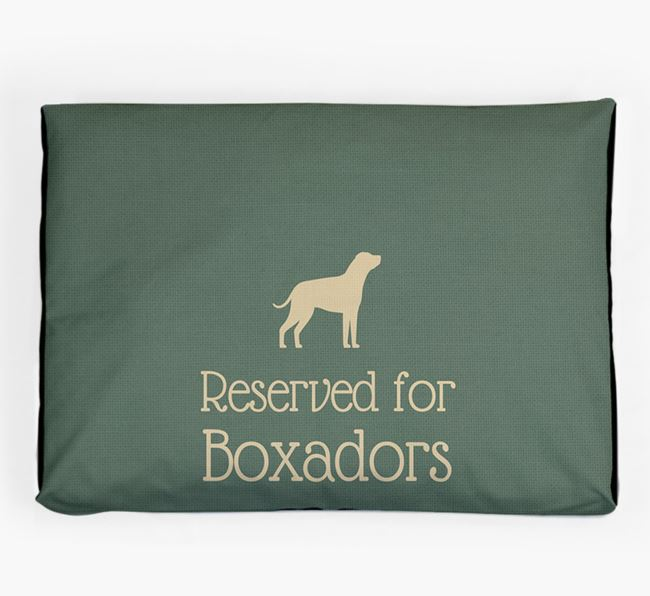 'Reserved For Boxador' Dog Bed for your Boxador