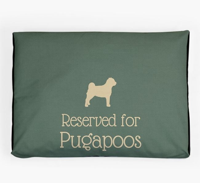 'Reserved For Pugapoo' Dog Bed for your Pugapoo