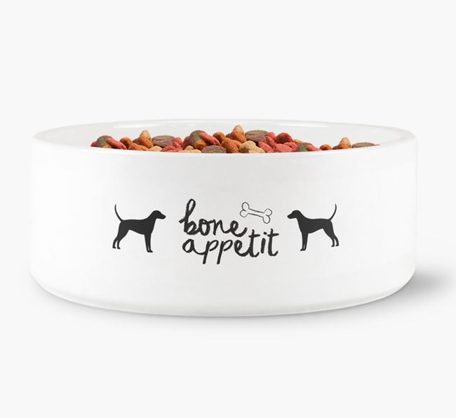 'Bone Appetit' Dog Bowl for your Foxhound