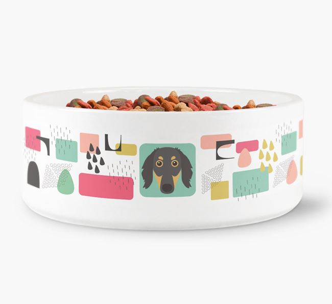 Abstract Design Dog Bowl for your Borzoi