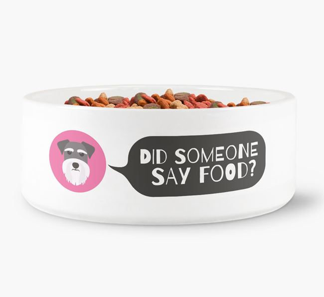 'Did someone say food?' Dog Bowl for your Dog