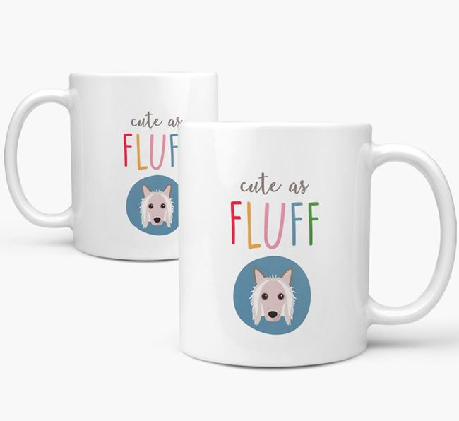 Hairless Chinese Crested 'Cute As Fluff' Mug