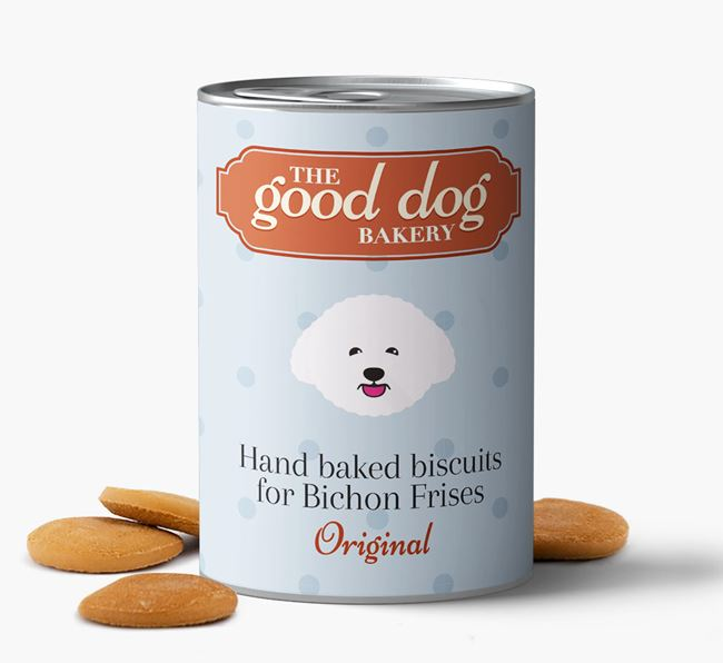 Bichon Frise Hand Baked Biscuits