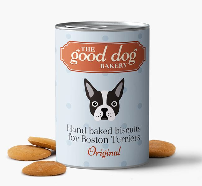 Boston Terrier Hand Baked Biscuits