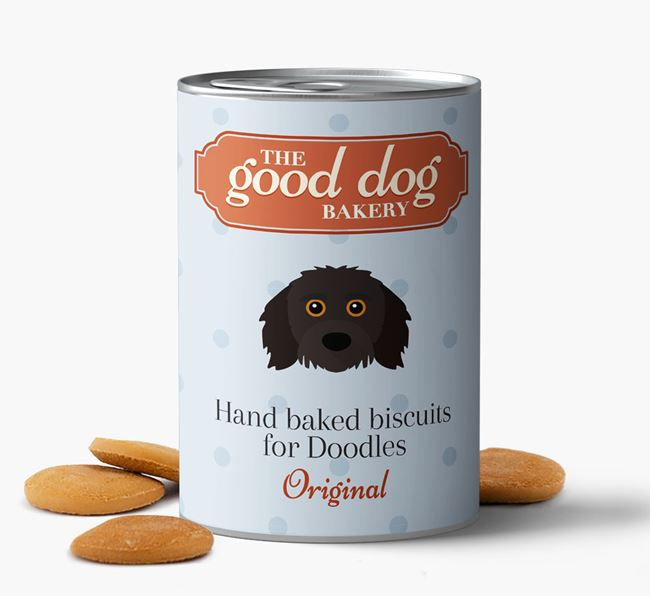 Doodle Hand Baked Biscuits