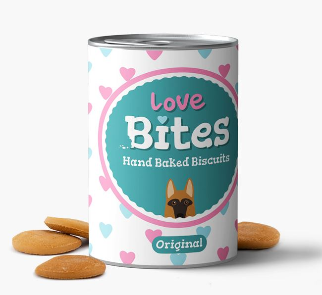 'Love Bites' Hand Baked Biscuits for your Dog
