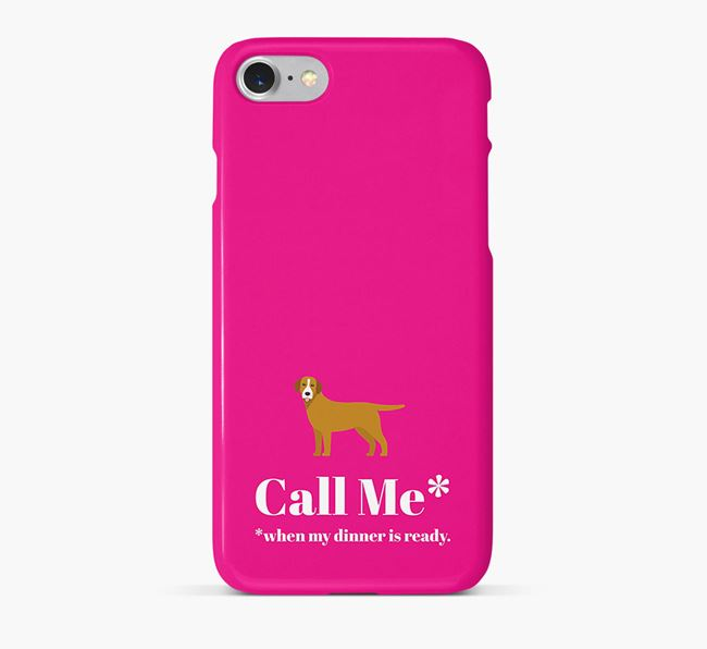 'Call me for Dinner' Phone Case with Springador Icon