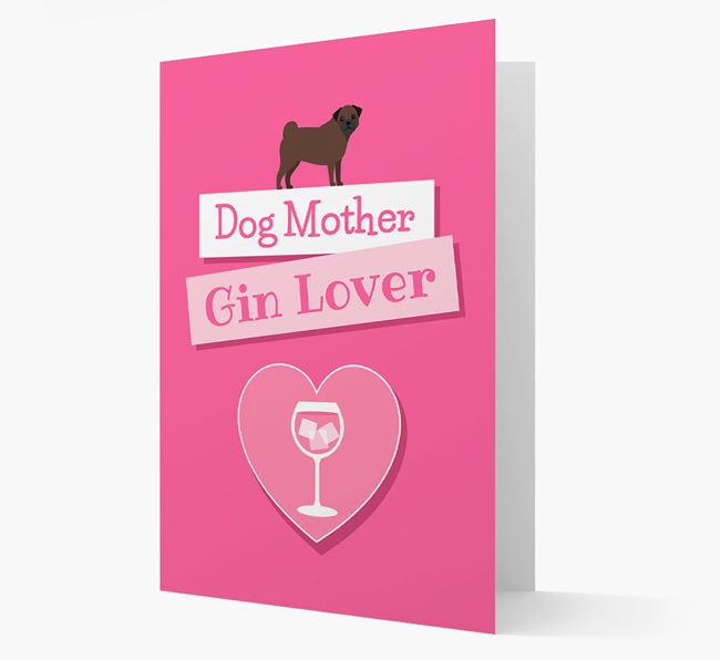 'Gin Lover' Card with your Frug Icon