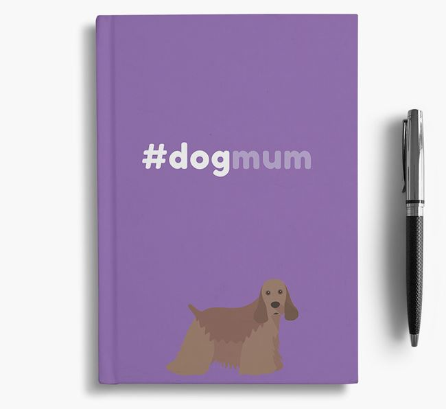#Dogmum Notebook with American Cocker Spaniel Icon