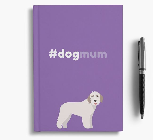 #Dogmum Notebook with Aussiedoodle Icon