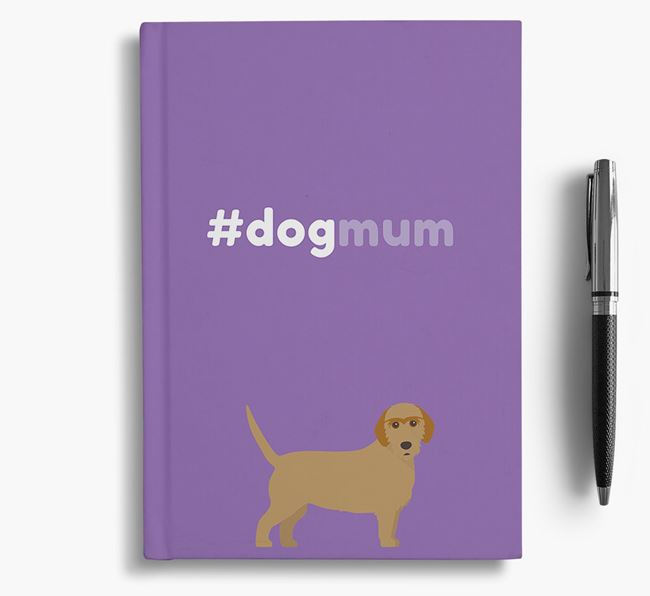 #Dogmum Notebook with Basset Fauve De Bretagne Icon