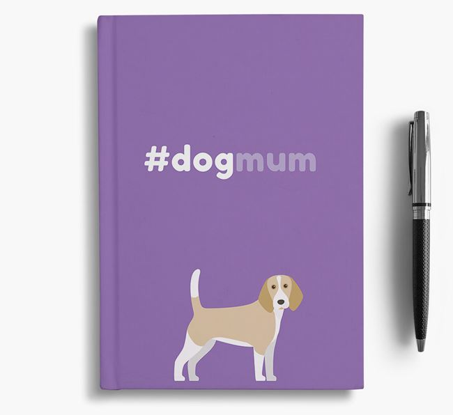#Dogmum Notebook with Beagle Icon