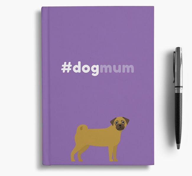 #Dogmum Notebook with Chug Icon