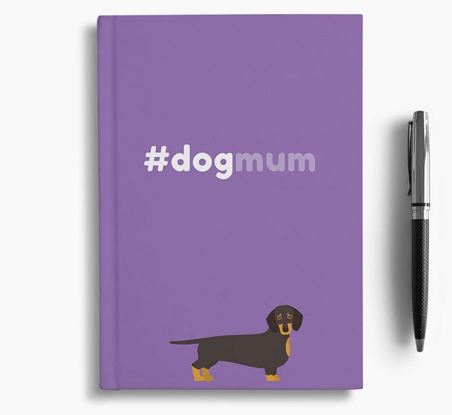 #Dogmum Notebook with Dog Icon