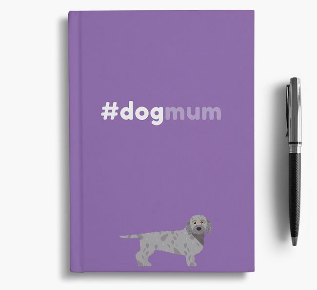 #Dogmum Notebook with Doxiepoo Icon