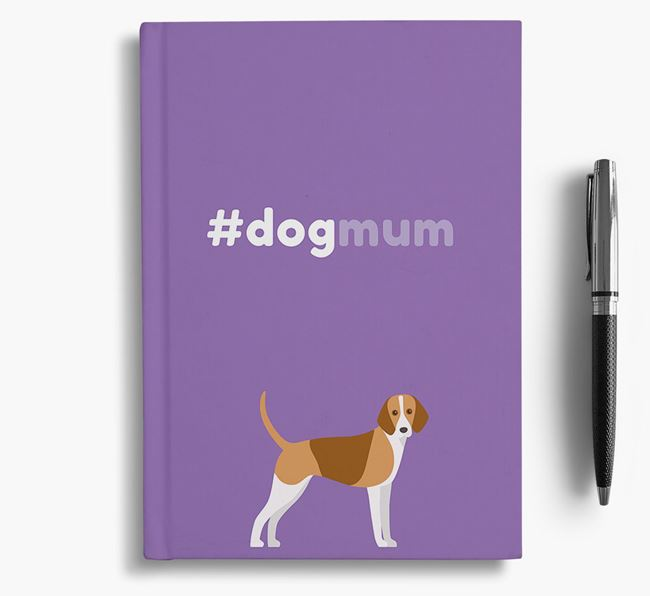 #Dogmum Notebook with Foxhound Icon