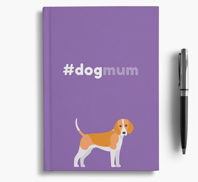 #Dogmum Notebook with Harrier Icon