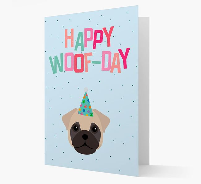 'Happy Woofday' Card with Frug Icon