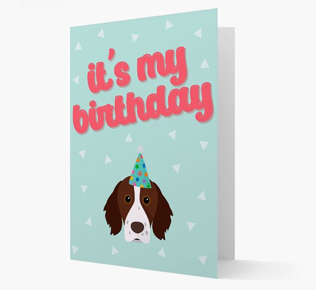 'It's my Birthday' Card with Brittany Icon