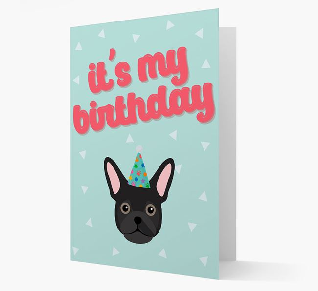 'It's my Birthday' Card with Frug Icon