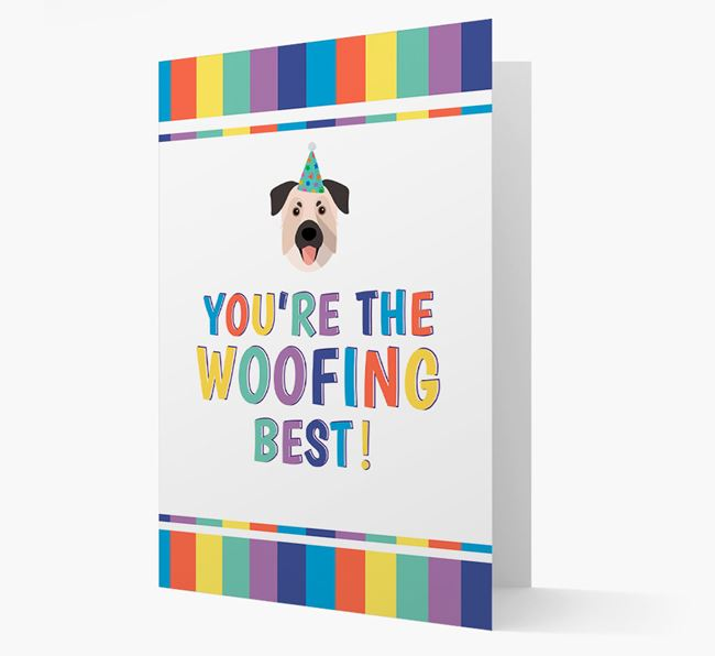 'You're the Woofing Best' Card with Chinook Icon