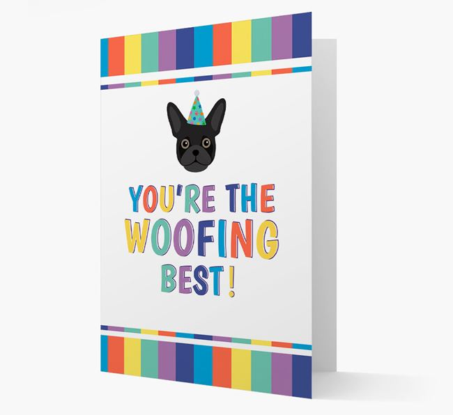 'You're the Woofing Best' Card with Frug Icon