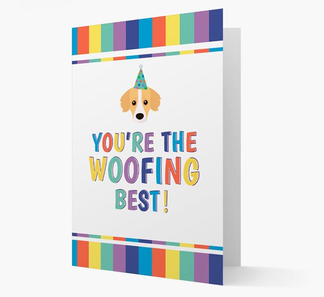 'You're the Woofing Best' Card with Kokoni Icon