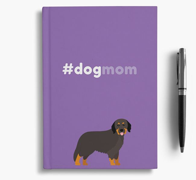 #Dogmom Notebook with Hovawart Icon