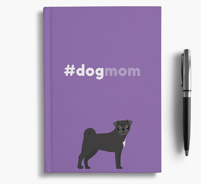 #Dogmom Notebook with Jug Icon