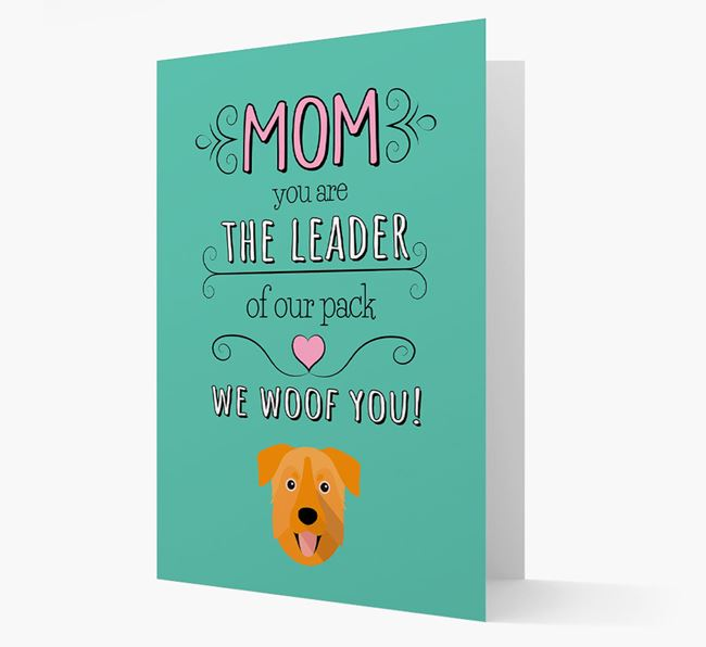 'The Leader Of Our Pack' Card with your Chinook Icon