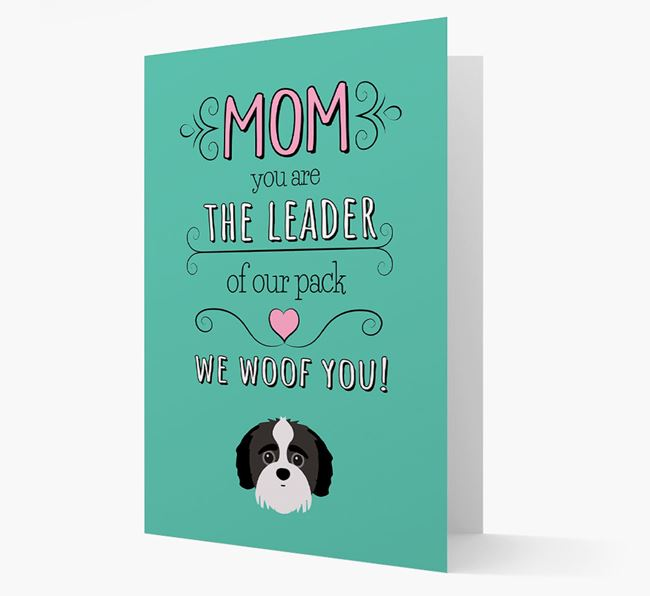 'The Leader Of Our Pack' Card with your Jack-A-Poo Icon