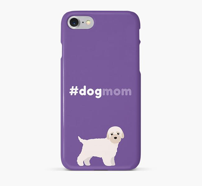'Dog Mom' Bich-poo Phone Case