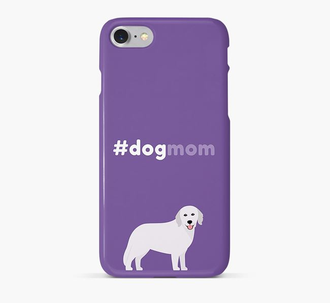 'Dog Mom' Hungarian Kuvasz Phone Case
